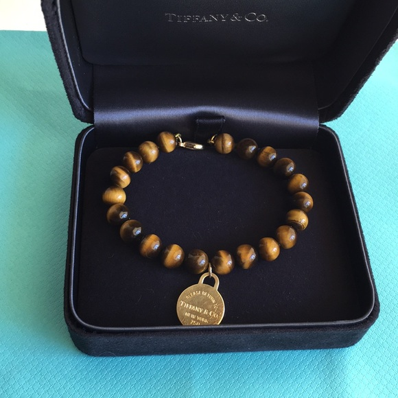 c5d765603 Tiffany & Co. Jewelry | Tiffany Co Tiger Eye 18k 750 Gold 8mm ...